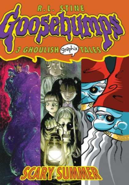 Bestselling Comics (2007) - Scary Summer (Goosebumps Graphix) by R L Stine