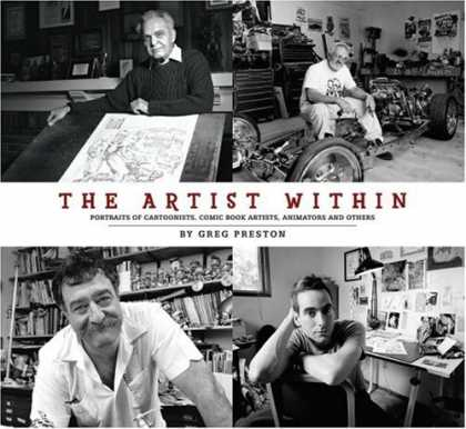 Bestselling Comics (2007) - The Artist Within by Greg Preston - Artist - Comic Book - Portrait - Cartoonist - Animator