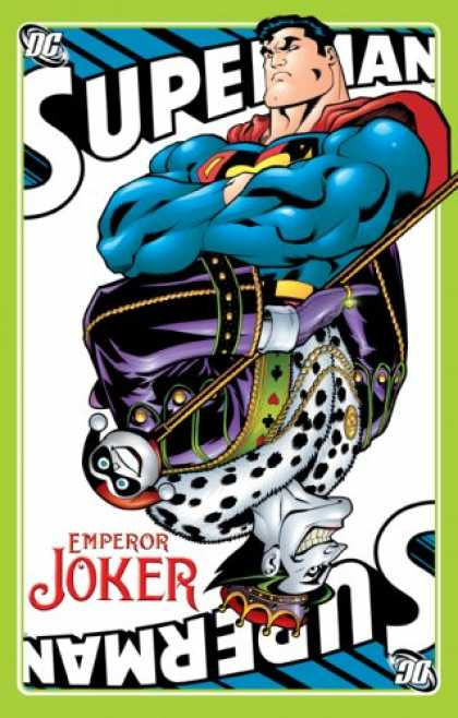 Bestselling Comics (2007) - Superman: Emperor Joker by Jeph Loeb - Muscled - Joker - Superman - Cards - Ruler