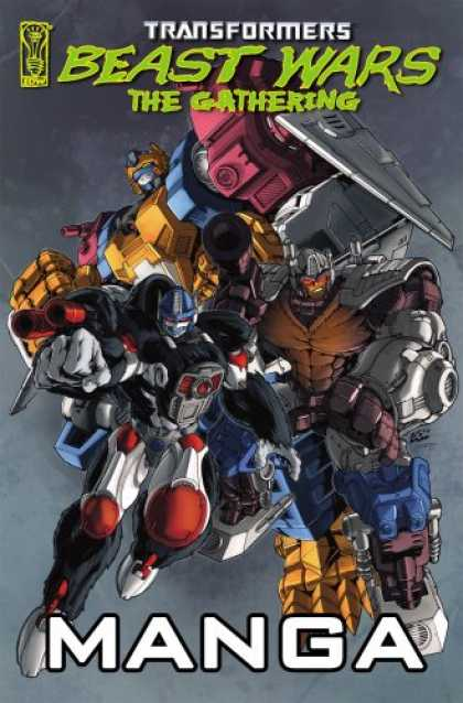 Bestselling Comics (2007) - Transformers: Beast Wars: The Gathering Manga (Transformers) by Simon Furman - Transformers - Beast Wars - The Gathering - Robot - Manga