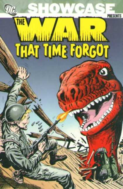 Bestselling Comics (2007) - Showcase Presents: The War That Time Forgot, Vol. 1 by Robert Kanigher