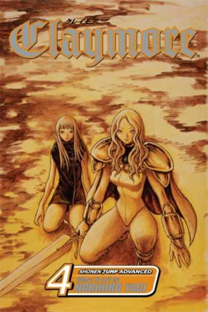 Bestselling Comics (2007) - Claymore, Volume 4 (Claymore) by Norihiro Yagi