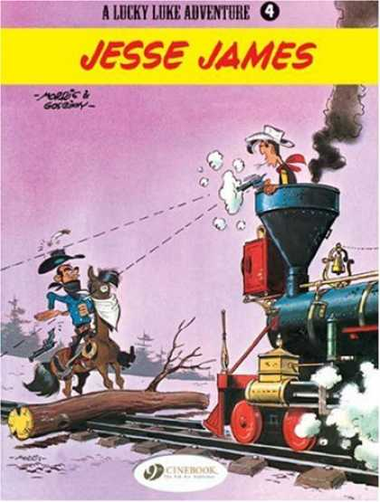 Bestselling Comics (2007) - A Lucky Luke adventure - Jesse James (Lucky Luke) by Goscinny