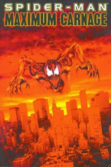 Bestselling Comics (2007) - Spider-Man: Maximum Carnage by Tom DeFalco - Spider-man - Maximum Carnage - City - Buildings - Claws