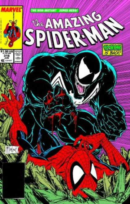 Bestselling Comics (2007) - Spider-Man: Birth of Venom by Jim Shooter - Spiderman Beat - Venom - Crushing - Muscles - Pain
