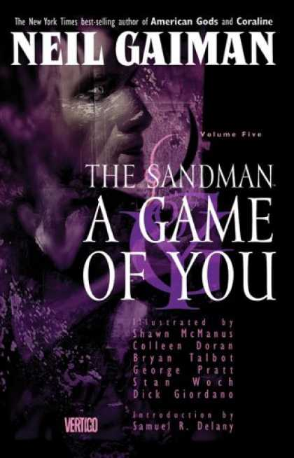 Bestselling Comics (2007) - The Sandman Vol. 5: A Game of You by Neil Gaiman - The New York Times Best Selling - Author Of American Gods And Coraline - The Sandman - A Game Of You - Vertigo