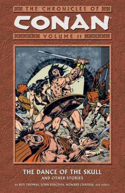 Bestselling Comics (2007) - The Chronicles Of Conan Volume 11: The Dance Of The Skull And Other Stories (Chr