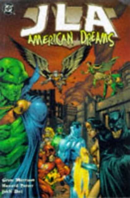 Bestselling Comics (2007) - JLA Vol. 2: American Dreams by Grant Morrison - Jla - American Dreams - Wings - Flight - Batman
