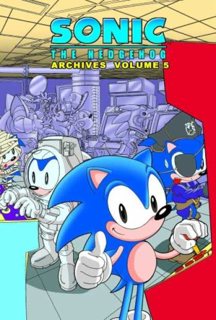 Bestselling Comics (2007) - Sonic The Hedgehog Archives Volume 5 by Various