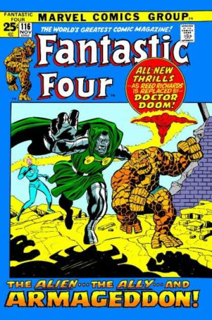 Bestselling Comics (2007) - Essential Fantastic Four, Vol. 6 (Marvel Essentials) by Stan Lee - Fantastic Four - Dr Doom - All New Thrills - Armageddon - Reed Richards