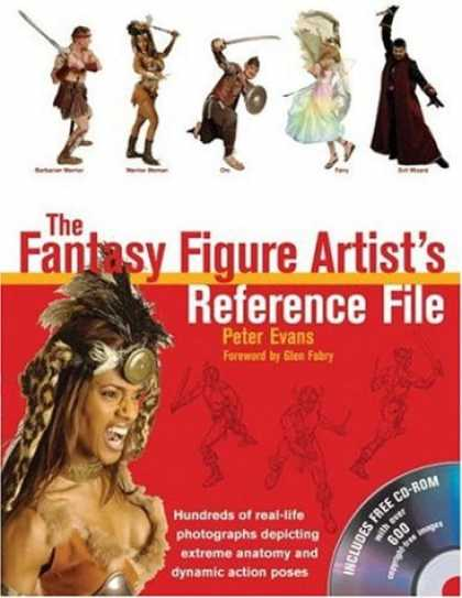 Bestselling Comics (2007) - The Fantasy Figure Artist's Reference File with CD-ROM: Hundreds of Real-life Ph - Sword - Indian - Dress - Cd Rom - Poses