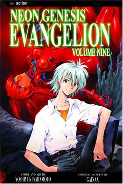 Bestselling Comics (2007) - Neon Genesis Evangelion, Vol. 9 - The Best Is Yet To Come - If You Thought Volume 8 Was Good Just Read 9 - The World Rest In Their Hands - What With The Lady In The Red Outfit - The Dynamic Duo Return