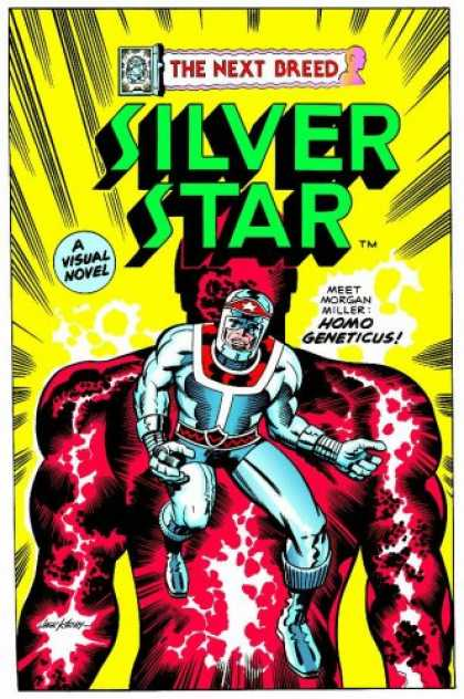 Bestselling Comics (2007) - Silver Star (Jack Kirby's Silver Star) by Jack Kirby - Homo Geneticus - The Next Breed - A Visual Novel - Superheroe - Costume
