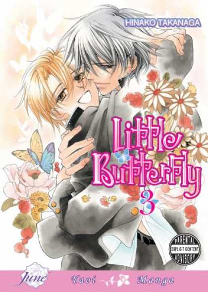Bestselling Comics (2007) - Little Butterfly, Volume 3 by Hinako Takanaga - Little Butterfly 3 - Hinako Takanaga - Yaoi Manga - Parental Advisory - Love