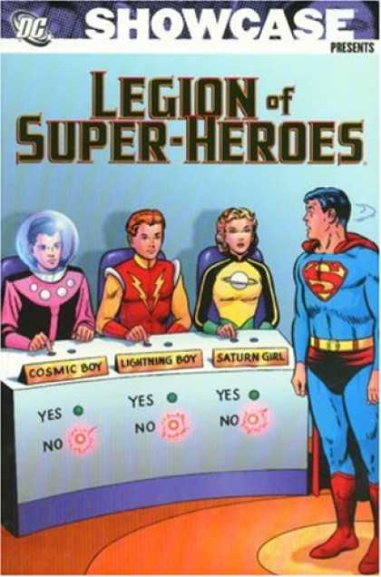 Bestselling Comics (2007) - Showcase Presents: Legion of Super-Heroes, Vol. 1 by Jerry Siegel