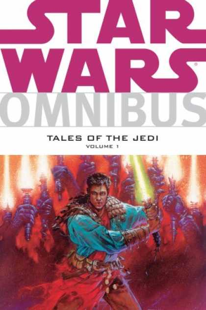 Bestselling Comics (2007) - Star Wars Omnibus: Tales of the Jedi Volume 1 by Various