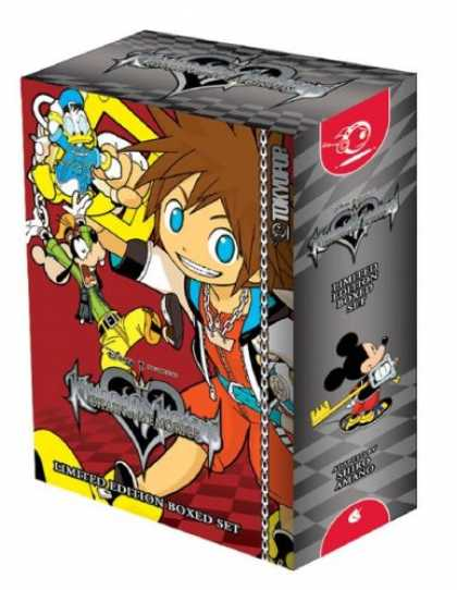 Bestselling Comics (2007) - Kingdom Hearts: Chain of Memories Boxed Set (Kingdom Hearts (Graphic Novels)) by - Happy Team - Micky With Key - Playin With Boy - More Fun - Practical Game