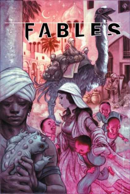 Bestselling Comics (2007) - Fables Vol. 7: Arabian Nights (and Days) by Bill Willingham
