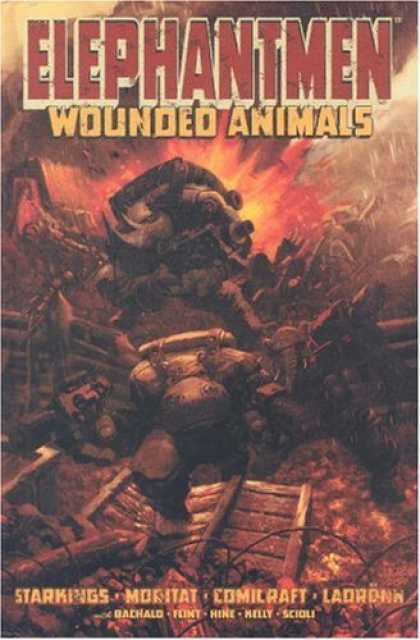 Bestselling Comics (2007) - Elephantmen Volume 1: Wounded Animals by Richard Starkings - Elephantmen - Wounded Animals - Explosion - Supernatural - Animal And Man