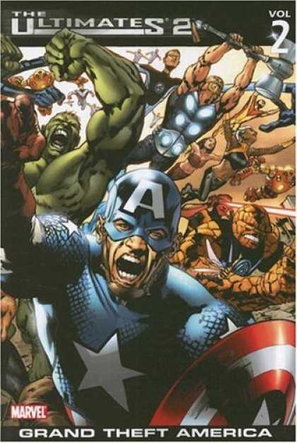 Bestselling Comics (2007) - Ultimates 2 Volume 2: Grand Theft America TPB (Ultimates) by Mark Millar - The Ultimates 2 - Hulk - Grand Theft - America - Marvel