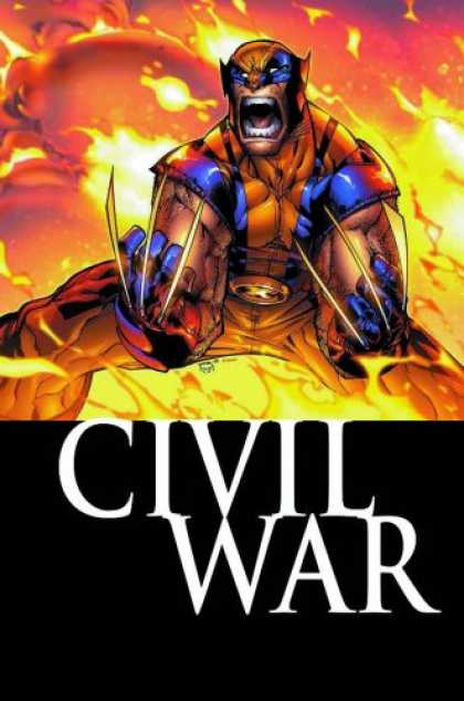 Bestselling Comics (2007) - Civil War: Wolverine by Marc Guggenheim