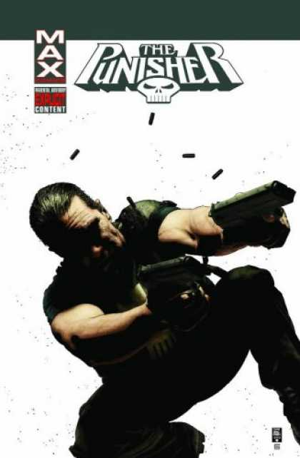 Bestselling Comics (2007) - Punisher MAX Vol. 5: The Slavers by Garth Ennis - Guns - Skull - Bullets - Photograph - Black Clothes