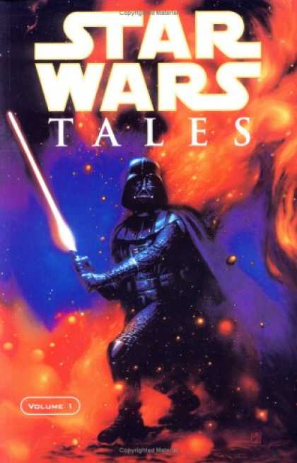 Bestselling Comics (2007) - Star Wars Tales, Vol. 1 - Star Wars Tales - Glowing - Space - Light Saber - Darth Vader
