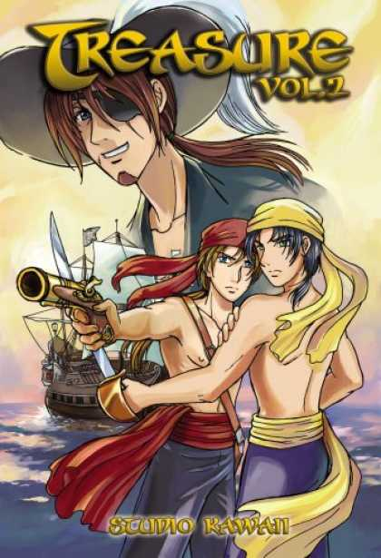 Bestselling Comics (2007) - Treasure Volume 2 (Yaoi) by Studio Kawaii - Treasurevol1 - Gun - Ship - Sea - Cap
