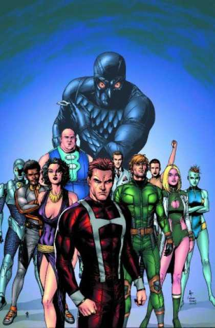 Squadron Supreme Team Super Hero