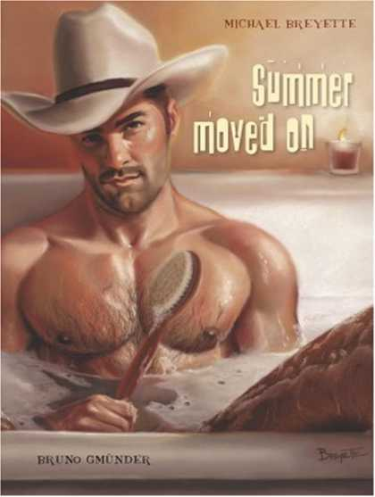 Bestselling Comics (2007) - Summer Moved on by Michael Breyette - Cowboy - Bath - Brush - Hat - Candle