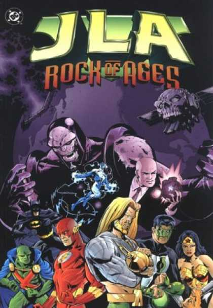Bestselling Comics (2007) - JLA Vol. 3: Rock of Ages by Grant Morrison