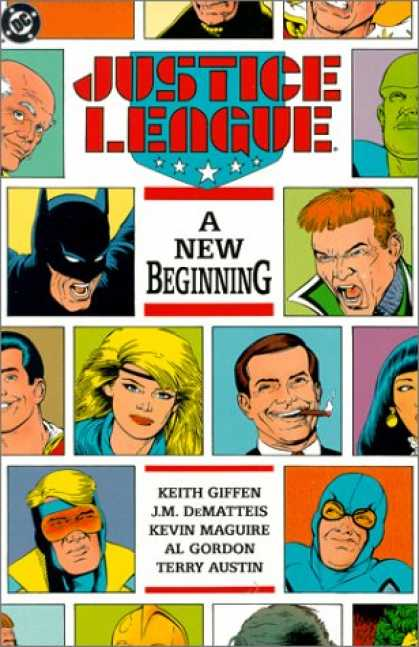 Bestselling Comics (2007) - Justice League: A New Beginning (Justice League (DC Comics)) by Mark Waid - Justic League - A New Beginning - Batman - Keith Giffin - Jm Dematteis