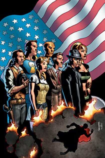 Bestselling Comics (2007) - The American Way by John Ridley