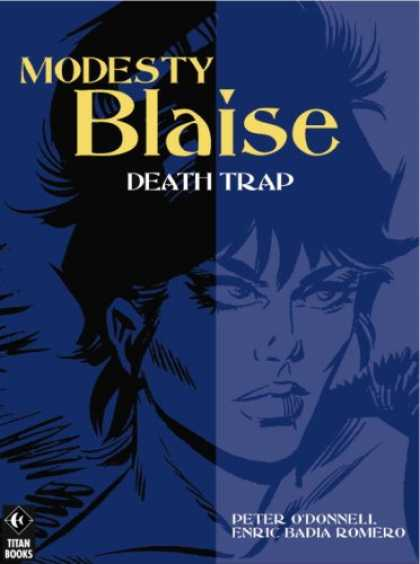 Bestselling Comics (2007) - Modesty Blaise: Death Trap (Modesty Blaise (Graphic Novels)) by Peter O'Donnell