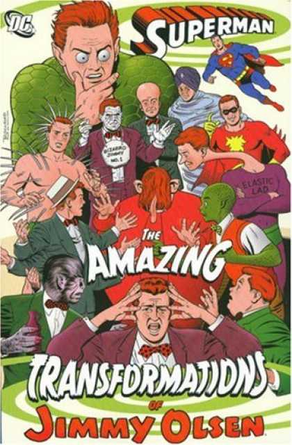 Bestselling Comics (2007) - The Amazing Transformation of Jimmy Olsen (Superman (Graphic Novels)) by Various