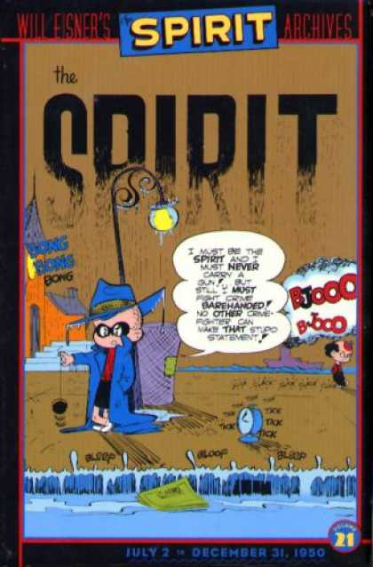 Bestselling Comics (2007) - Spirit, The: Archives, Volume 21 (Spirit Archives (Graphic Novels)) by Will Eisn - The Sprit - Yo-yo - Clock - Will Eisner - Street Lamp