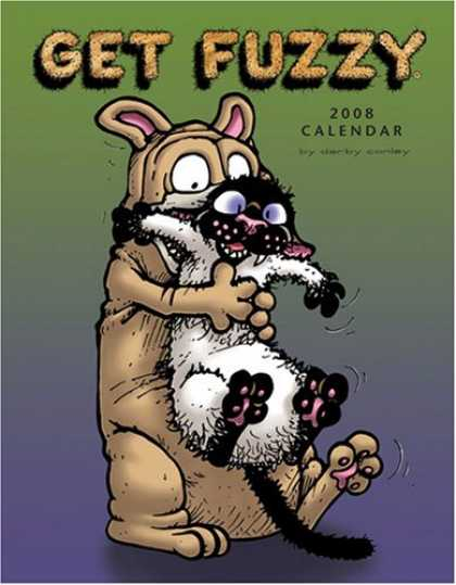 Bestselling Comics (2007) - Get Fuzzy: 2008 Desk Calendar by Darby Conley