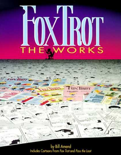 Bestselling Comics (2007) - FoxTrot the Works by Bill Amend - Newspapers - Magazines - Man - Computer - Table