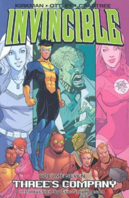 Bestselling Comics (2007) - Invincible Volume 7: Three's Company (Invincible) by Robert Kirkman