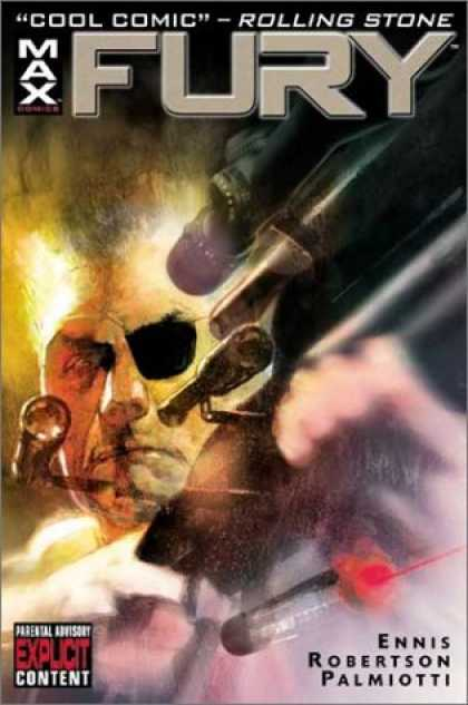 "Bestselling Comics (2007) - Fury TPB (""Max Comics""--Cover) by Garth Ennis"