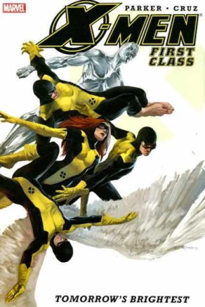 Bestselling Comics (2007) - X-Men: First Class by Jeff Parker - Angel - Iceman - Beast - Jean Gray - Cyclopse