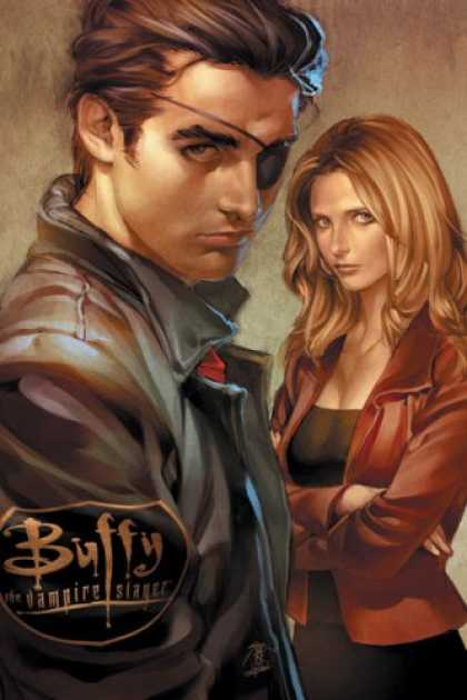 Bestselling Comics (2007) - Buffy the Vampire Slayer Season 8, Issue 2 by Joss Whedon - Vampire Slayer - Eye Patch - Buffy - Leather Jacket - Vampire Hunter