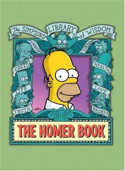 Bestselling Comics (2007) - The Homer Book (Simpsons Library of Wisdom) by Matt Groening