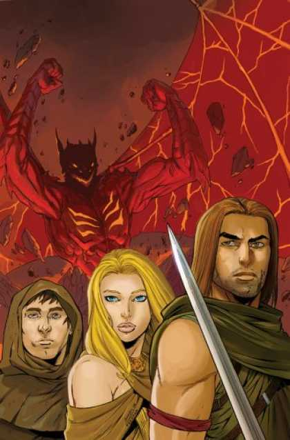 Bestselling Comics (2007) - DemonWars Volume 1 (DemonWars) by R. A. Salvatore