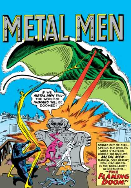 Bestselling Comics (2007) - Showcase Presents: Metal Men, Vol. 1 by Robert Kanigher