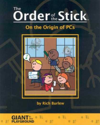Bestselling Comics (2007) - Order Of The Stick Volume 0: On The Origin Of PCs (Order of the Stick) by Rich B - The Order Of The Stick - Giant In The Playground - Children - Music - Sword