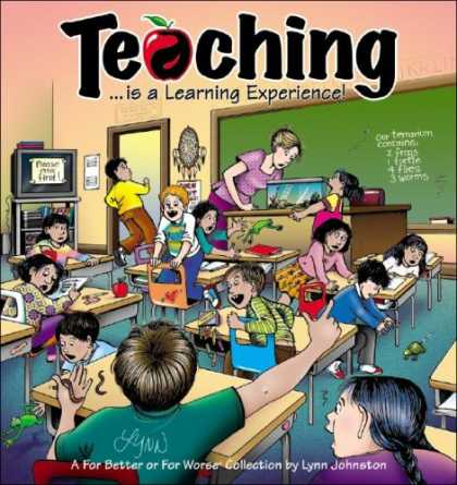 Bestselling Comics (2007) - Teaching: Is a Learning Experience! (For Better or for Worse Collections) by Lyn