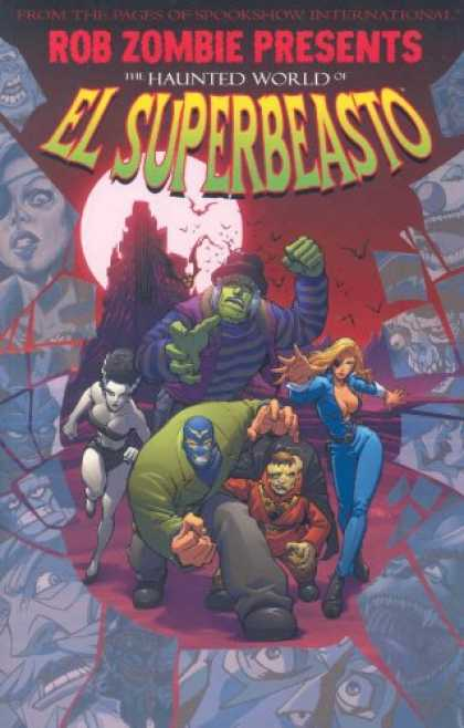 Bestselling Comics (2007) - Rob Zombie Presents: The Haunted World Of El Superbeasto (Rob Zombie Presents) b