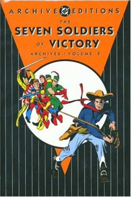 Bestselling Comics (2007) - Seven Soldiers of Victory Archives, Vol. 2 (DC Archive Editions) by Various - The Seven Soldiers Of Victory - Archives Volume 2 - Super Heros - Cowboy - Rounded Up