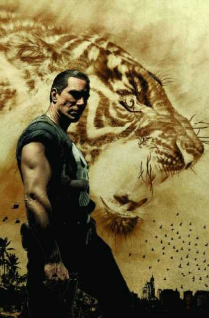 Bestselling Comics (2007) - Punisher MAX: From First to Last by Garth Ennis - Tiger - Punisher - Birds - Gun - City